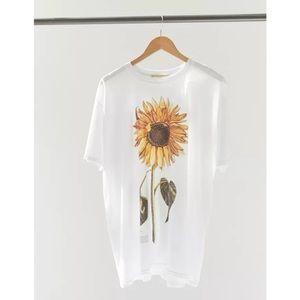 UO project social t sunflower t-shirt dress